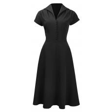 Pretty 40s Hostess kleit